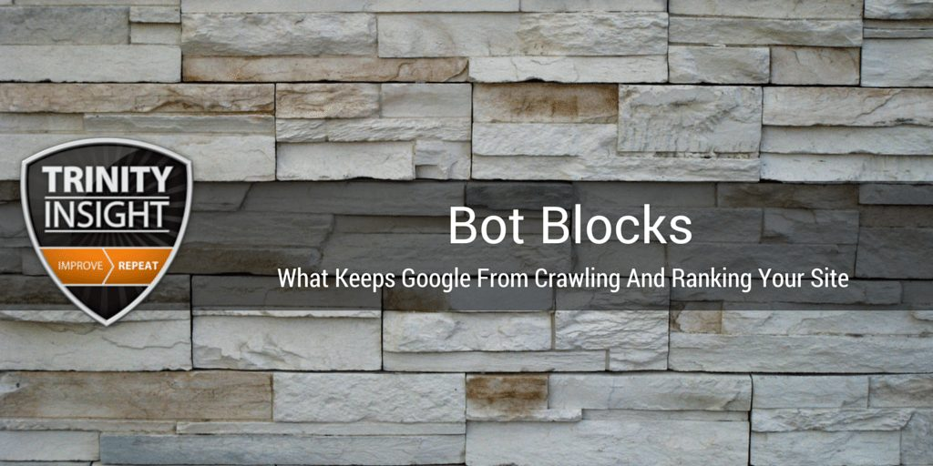 2 signals that keeps google away from your site