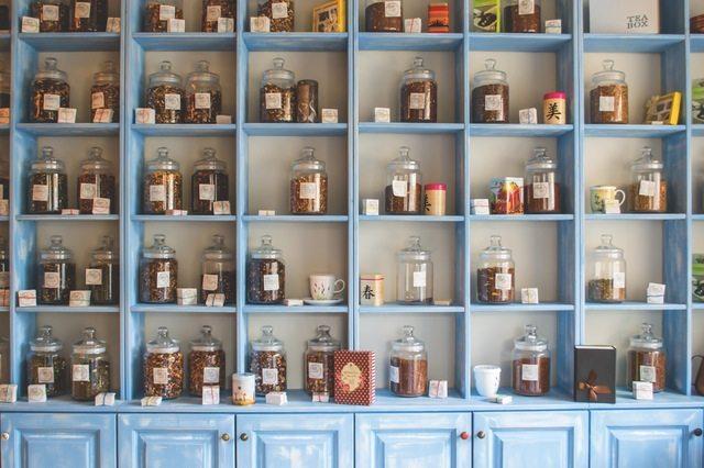 rural tea shop