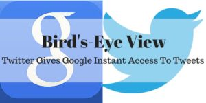 Google and Twitter Strike Deal